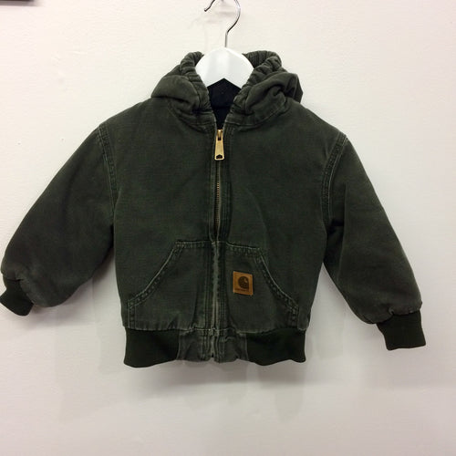 Rare Green Vintage Carhartt Hooded Jacket 3 Year