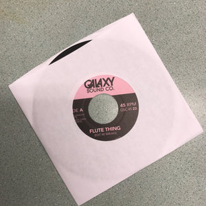 Galaxy Sound Co Edits 'Flute Thing' / 'Do What You Do' 7""