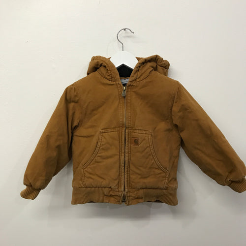 Carhartt Hooded Arctic Lined Jacket 4 Years