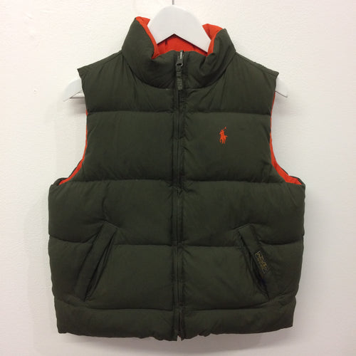 RL Polo Reversible Down Vest 5 Years