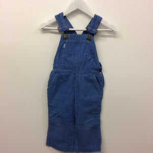 Rare White Tab Levi's Cord Overalls 18-24 Months