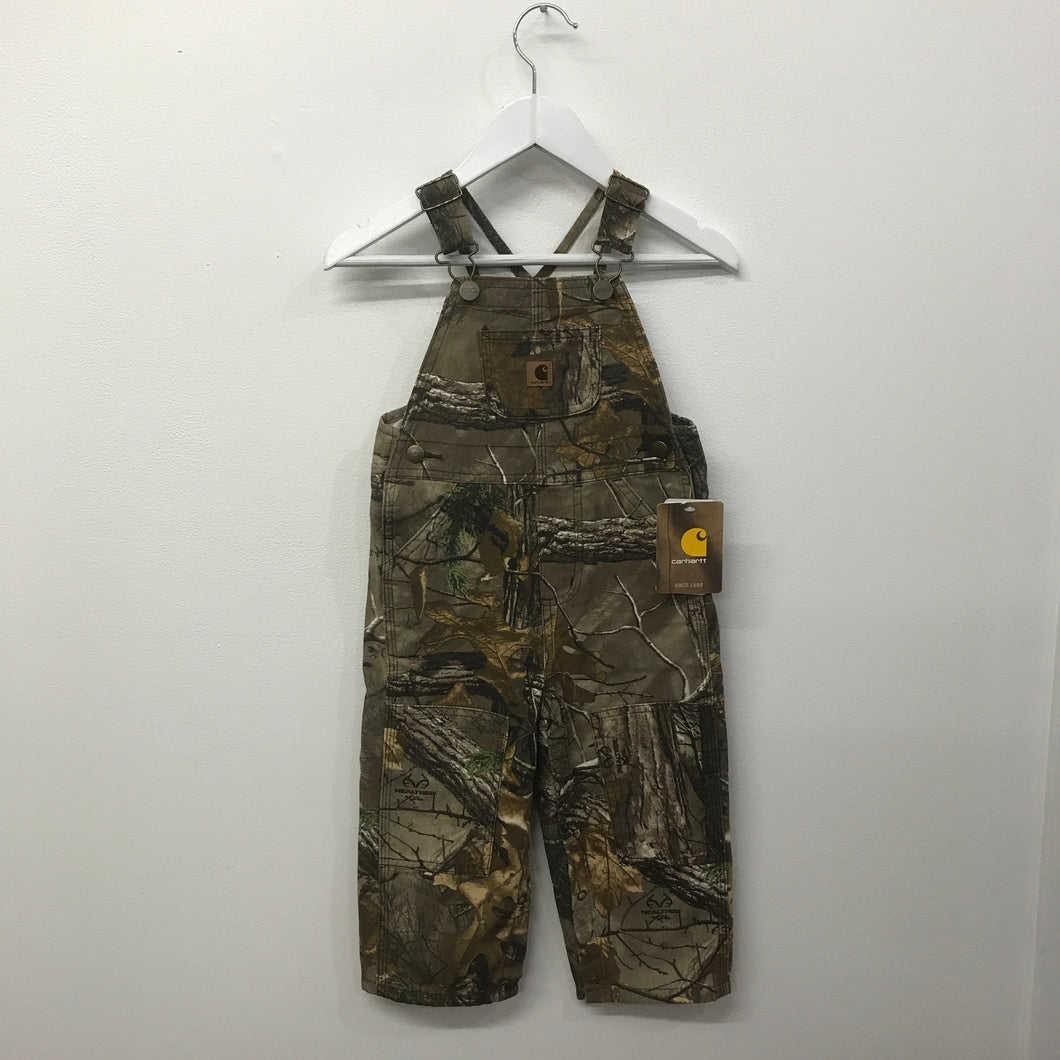 Brand New Carhartt Real Tree Overalls 24 Months