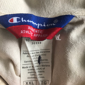 Rare Vintage Champion Chicago Bulls Golf Polo 2XL