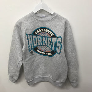 Vintage Charlotte Hornets Crew Sweat 8 Years