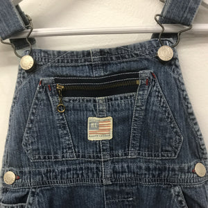RL Spellout Strap Overalls 12-18 Months