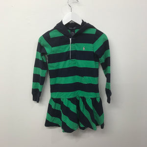 Vintage Hooded RL Polo Dress 6 Years