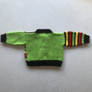 Preloved Hand knit Cardigan 0-6 Months