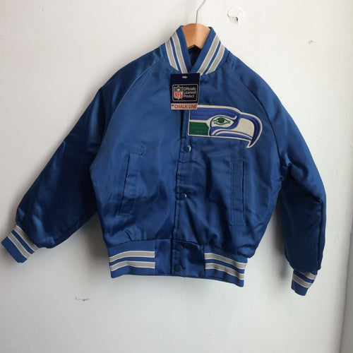 Vintage Deadstock Seattle Seahawks Chalk Line Jacket