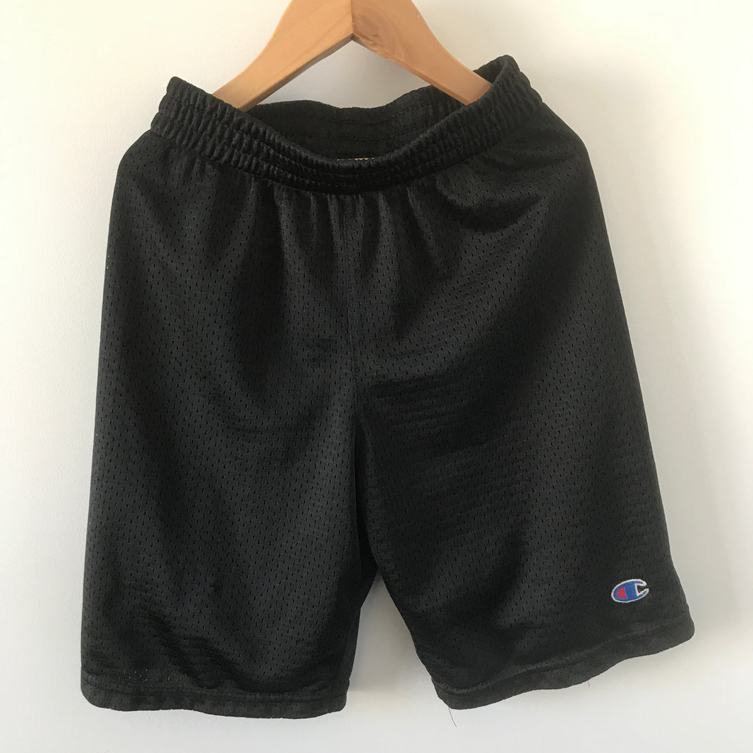 Kids Champion Mesh Bball Shorts 7 Years Black