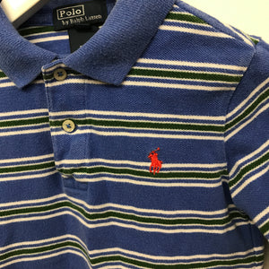 Vintage RL Striped L/Polo 4 Years