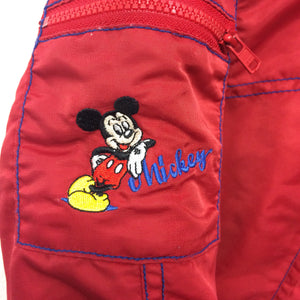 Vintage Hooded Mickey Mouse Jacket 3-4 years
