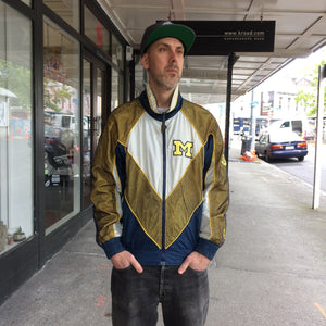 Vintage Pro Player Wolverines Jacket Small