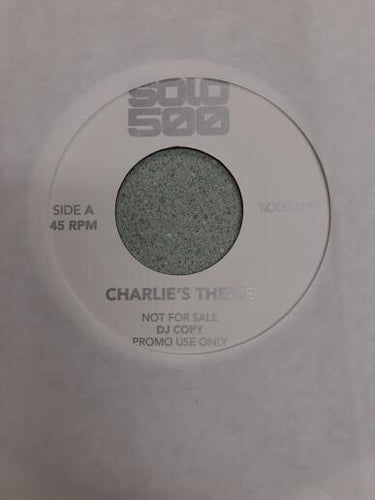 "Solo 500 7"" The Jimi Entley Sound ""Charlie's Theme""/ Marc Moulin ""Humpty Dumpty"""