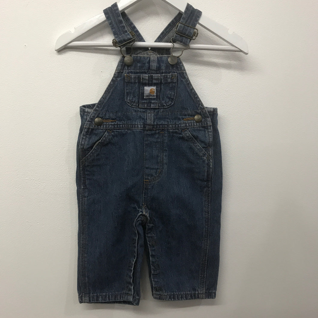 Carhartt Denim Master Cloth Overalls 6 Months
