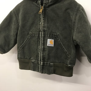 Rare Green Vintage Hooded Carhartt Jacket 2 Years