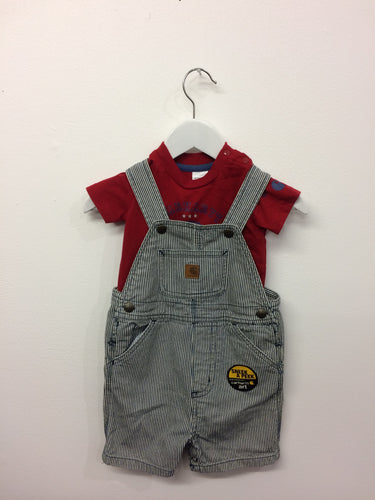 Brand New Carhartt shortall set 9 months