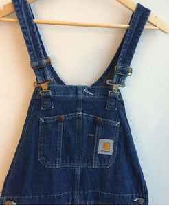 90's Carhartt Denim Overalls Men's 32x34