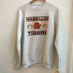Vintage Dead Stock Massillon Tigers Crew