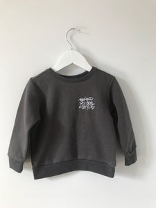 B.M.C.S EMB Toddler Crew Sweat