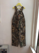 BNWOT Carhartt Realtree Camo Quilt Lined Overalls 6 years