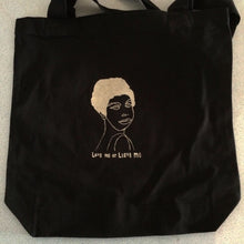 BMCS Miss Simone 'Love Me Or Leave Me'Tote Bag