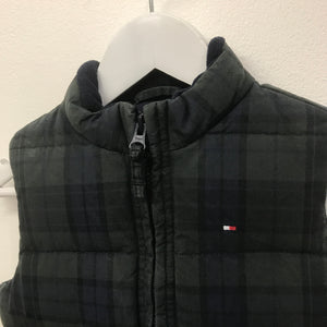 Tommy Plaid Down Vest 18 Months