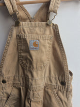 Vintage Carhartt Overalls 4 Years USA made.