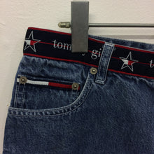 "Vintage Tommy Girl  Spell Out denim shorts 31"" waist"