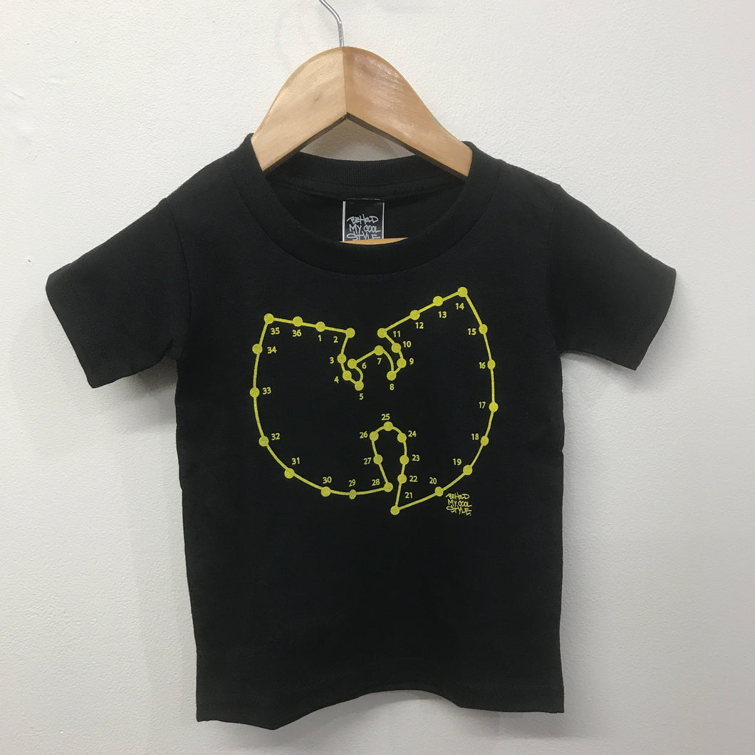 BMCS Kids Connect Ya Dots Tee Black