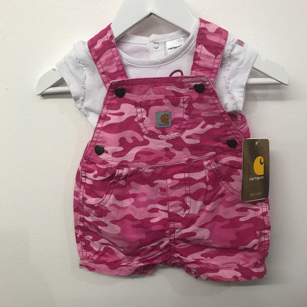 Carhartt Pink Camo Shortall Set Brand New