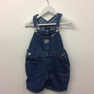 Vintage RL Polo Denim Shortalls 4 years