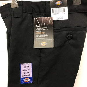 Brand New Dickies Double Knee Pants Black