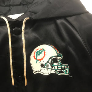 Rare Vintage Hooded Chalk Line Dolphins Jacket 3 Years