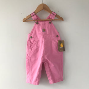 Brand New Pink Carhartt Baby Overalls 3 Months