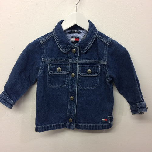 Vintage Tommy Denim Jacket 18-24 Months