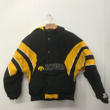 Vintage Starter Hooded Jacket Iowa Hawkeyes Youth Medium