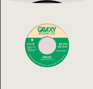 Galaxy Sound Co Summer In the City / Epilog Drum Break Edits- Re Mastered