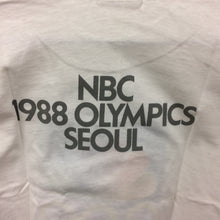 Vintage Deadstock NBC 1988 Seoul Olympic Games Tee XL