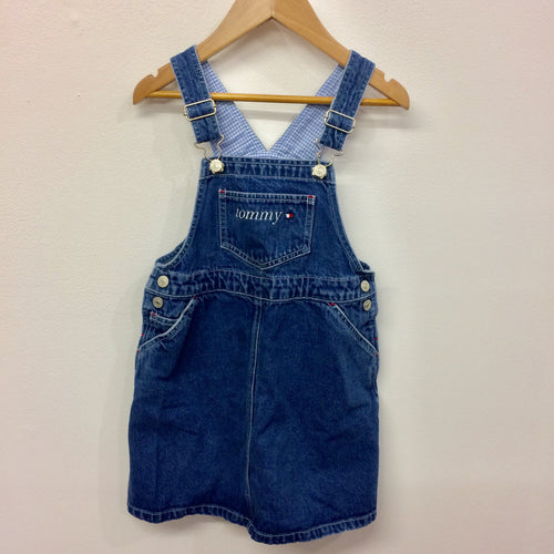 Vintage Tommy Denim Overall Dress 5 Years