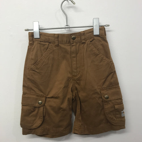 Deadstock Carhartt Cargo Shorts Kids 6 & 7 Years Brown & Green