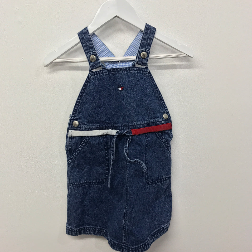 Vintage Tommy Overall Dress 3 Years