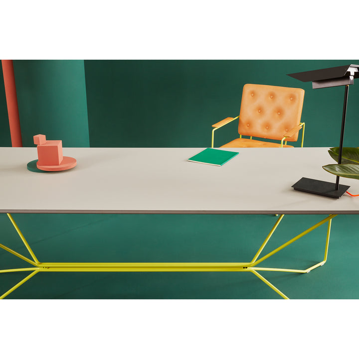 Victor Foxtrot Coffee Table POI and ALL ROUND table lamp