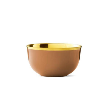 Champagne Bowl Cinnamon Gold