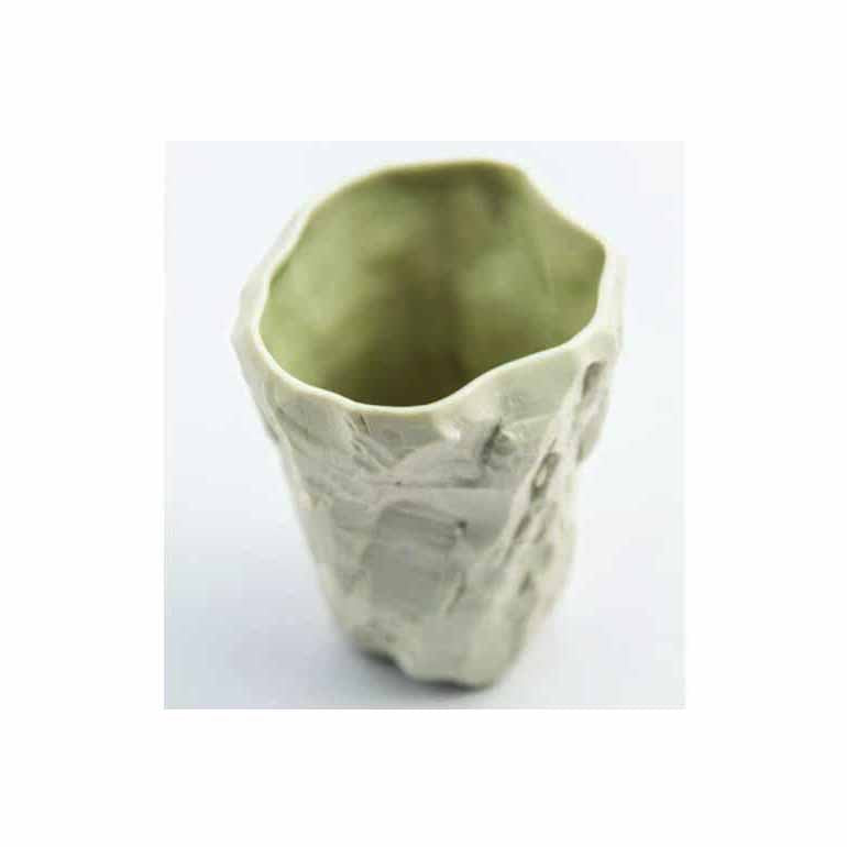 Mountain Water Porcelain Cup