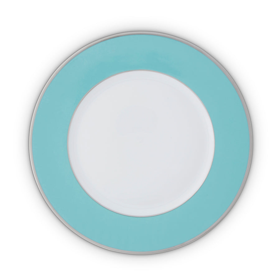 Serving Plate Platinum Rim