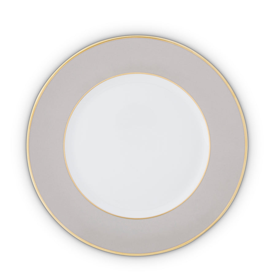 Serving Plate Gold Rim