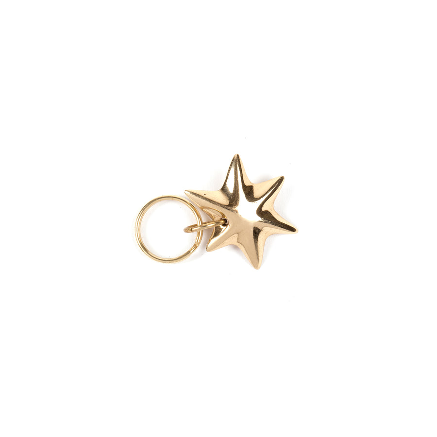 Set of 3 Keyrings Star #5615