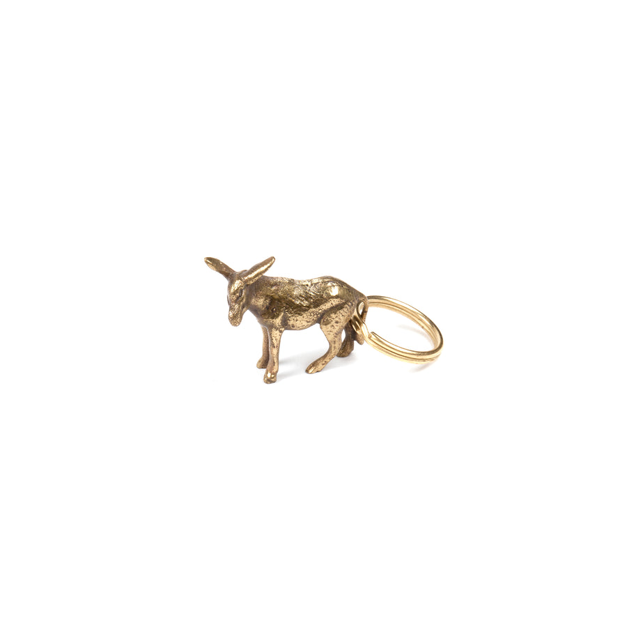 Set of 3 Keyrings Donkey #5608