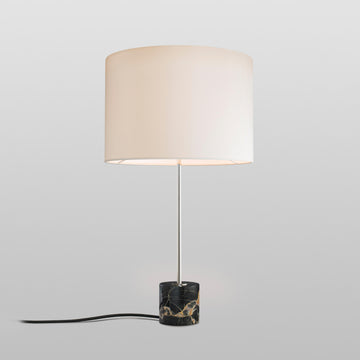 Kilo Nero Portoro Marble Table Lamp