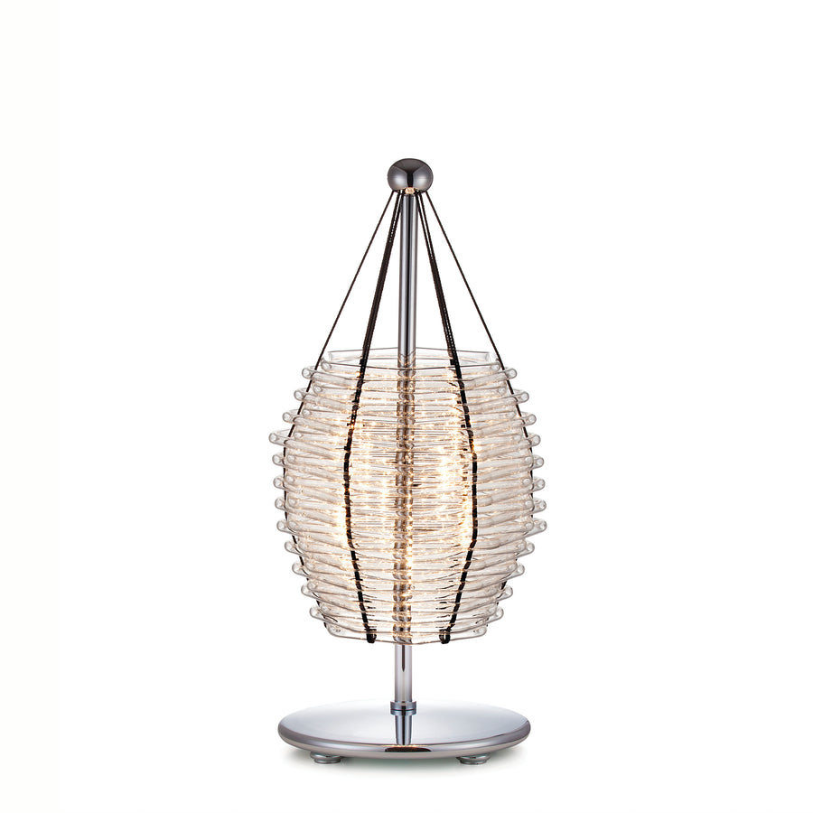Basket Table Lamp
